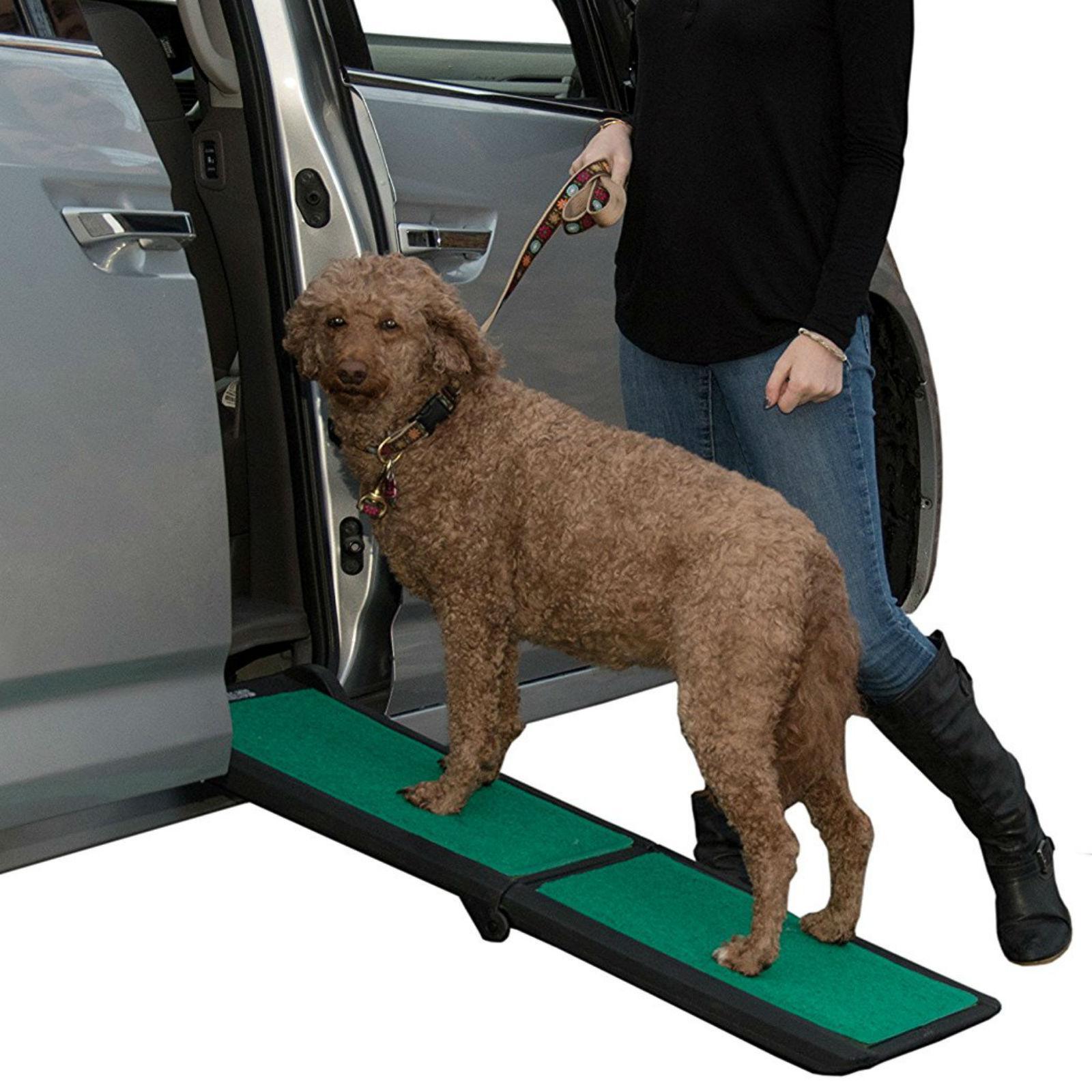 Bi-Fold Travel Lite Pet Ramp with SupertraX