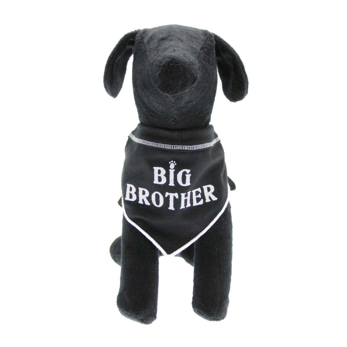 Big Brother Dog Bandana Scarf