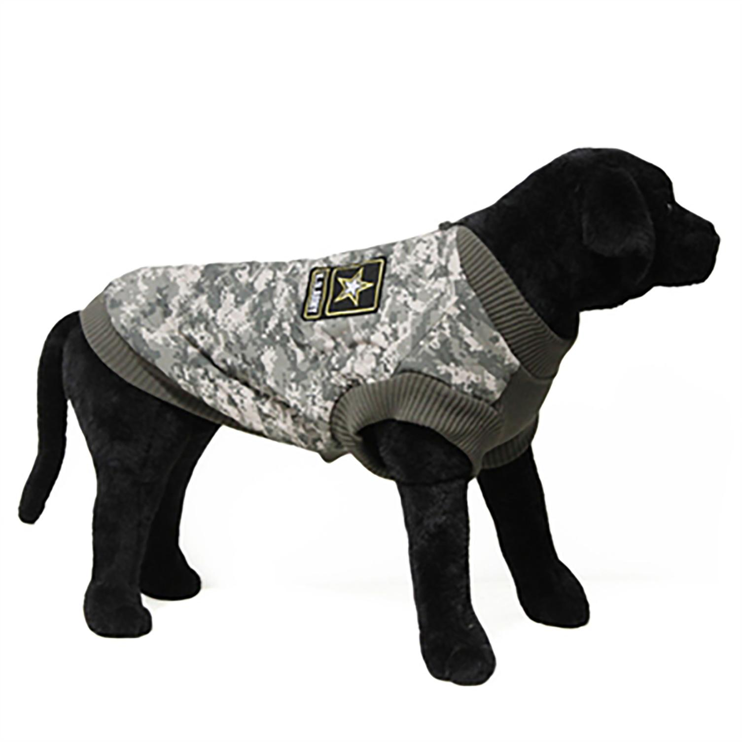 Big Dog Bomber Camo Dog Vest by Gooby - Green