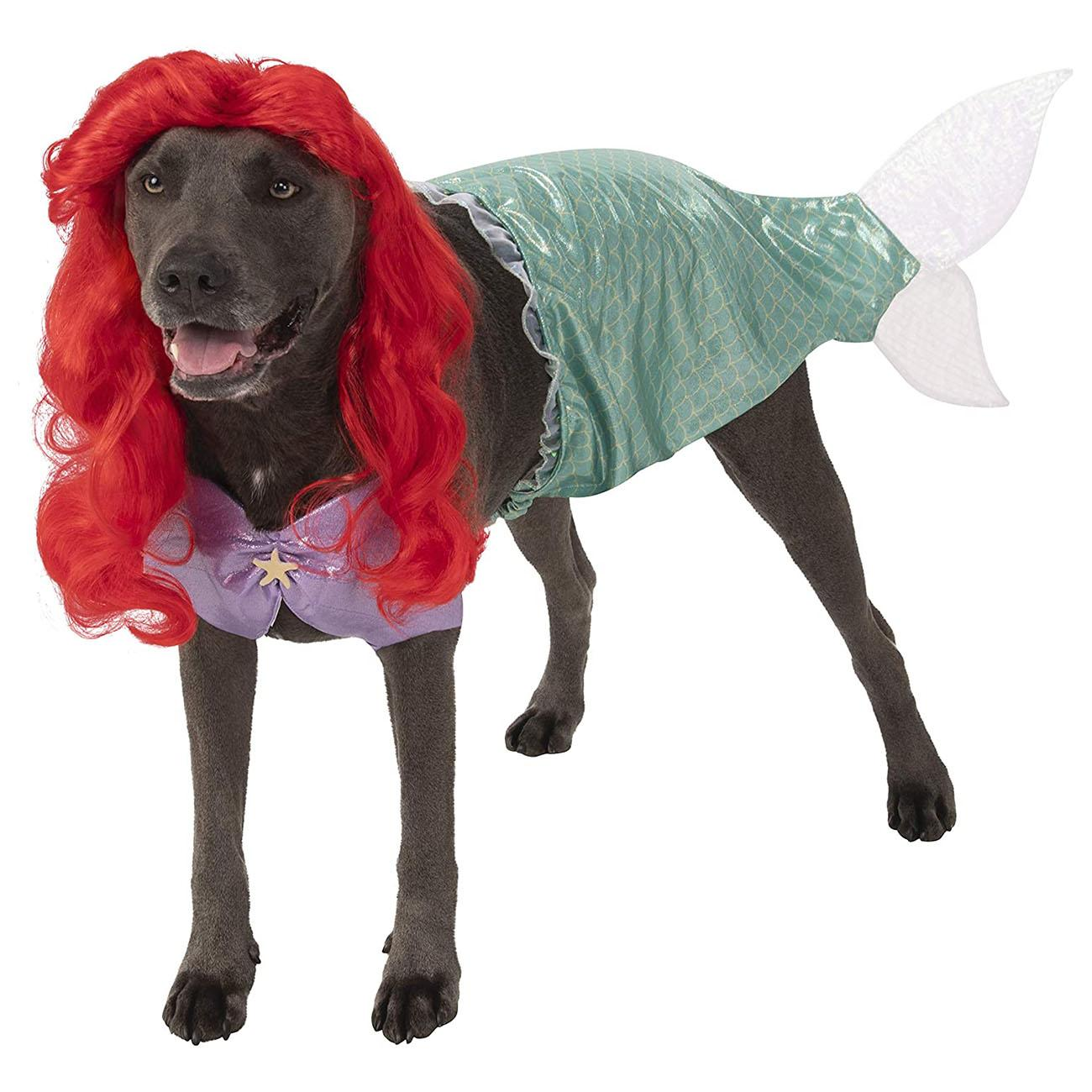 Disney's Big Dog The Little Mermaid Ariel Dog Costume by Rubie's