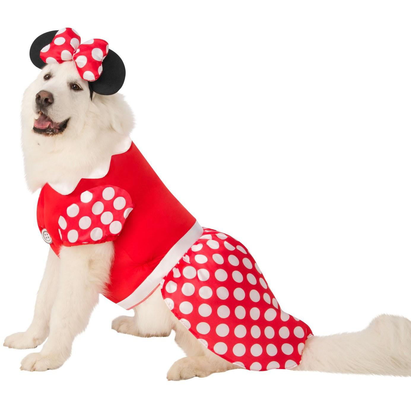 Big Dog Minnie Mouse Dog Costume by Rubie's