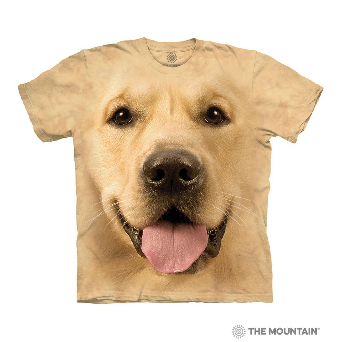 Big Face Golden Human T-Shirt by The Mountain