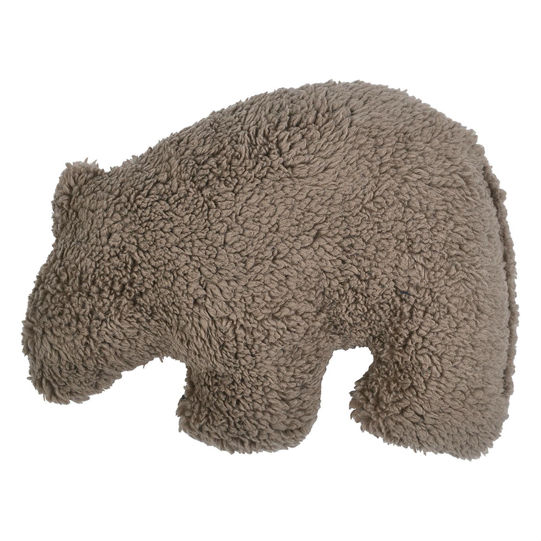 Big Sky Grizzly Dog Toy by West Paw - Oatmeal