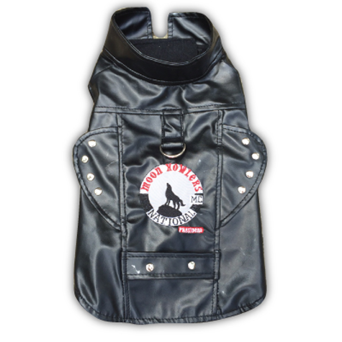 Biker Vest Dog Harness by Doggles - Moon Howlers