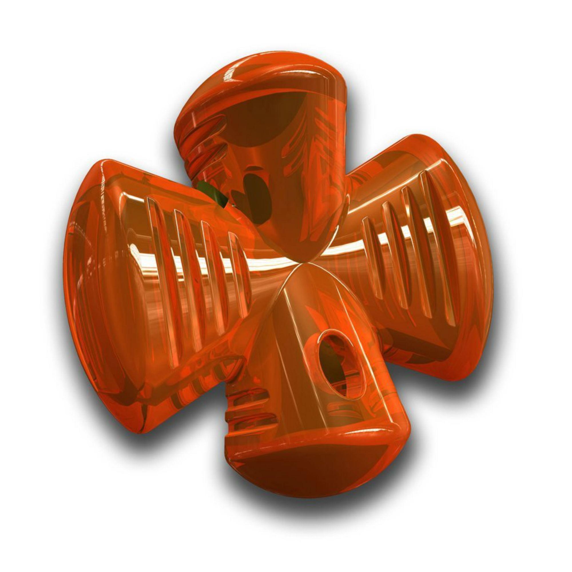 Bionic Stuffer Dog Toy- Orange
