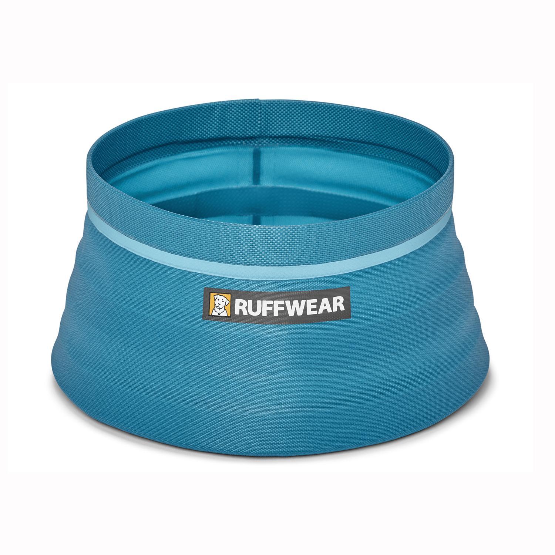 Bivy Travel Dog Bowl By RuffWear - Blue Spring