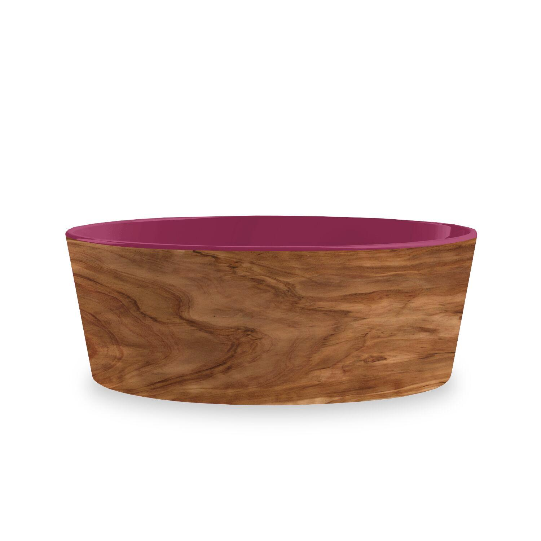Olive Dog Bowl by TarHong - Magenta