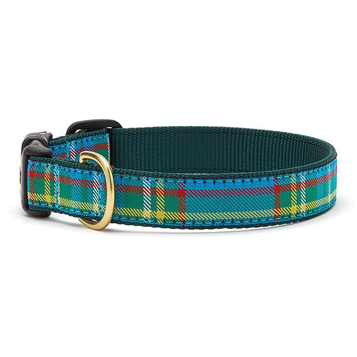 Kendall Plaid Dog Collar by Up Country