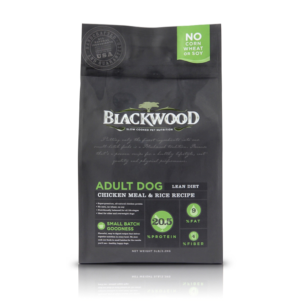 Blackwood All Life Stages Dog Food - Adult Lean Diet Chicken and Rice