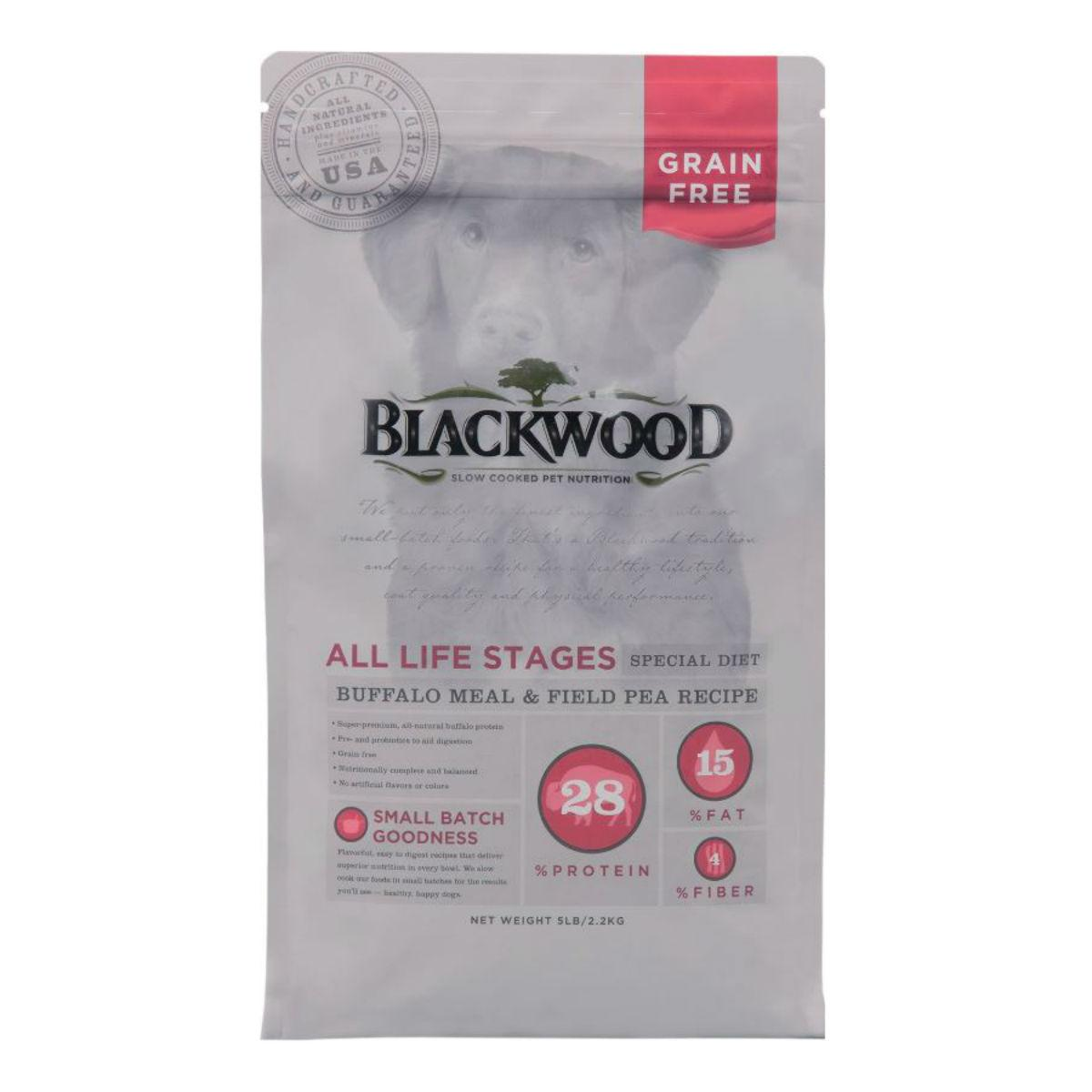 Blackwood Special Diet Dog Food - Buffalo Meal & Field Pea