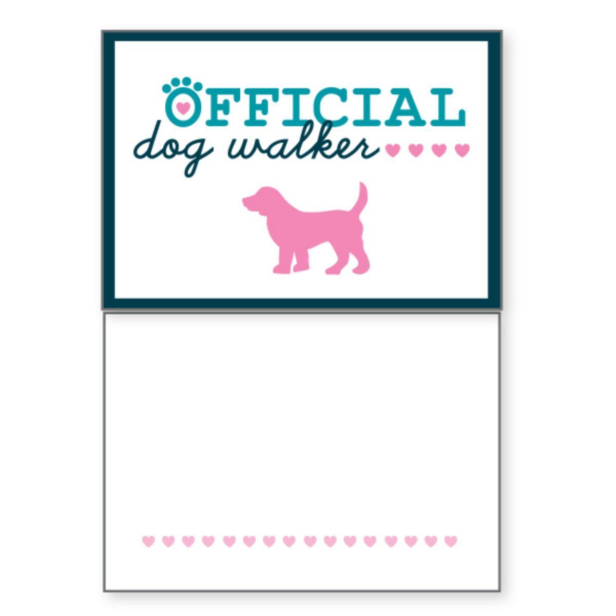 Blank Greeting Card by Dog Speak - Official Dog Walker