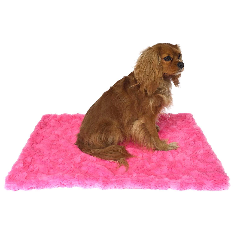 Bella Dog Blanket by The Dog Squad  - Hot Pink