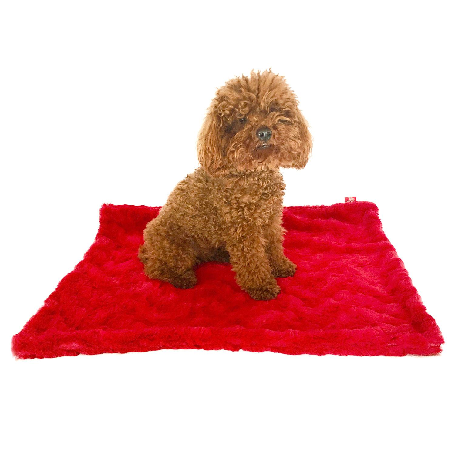 Bella Dog Blanket by The Dog Squad - Red