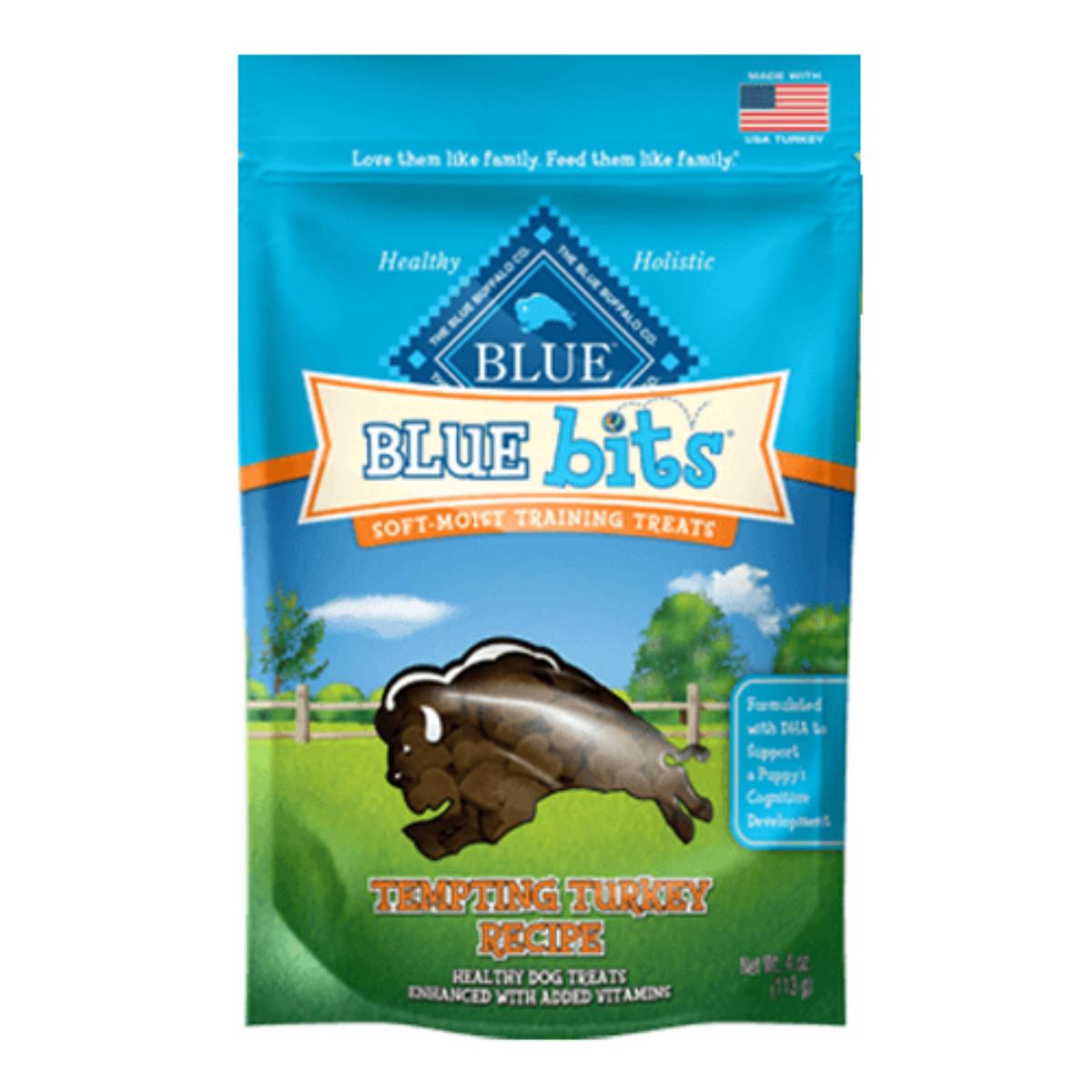 Blue Bits Soft-Moist Dog Training Treats - Tempting Turkey