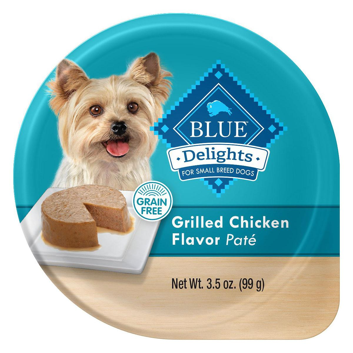 Blue Buffalo Divine Delights Small Breed Dog Food - Grilled Chicken