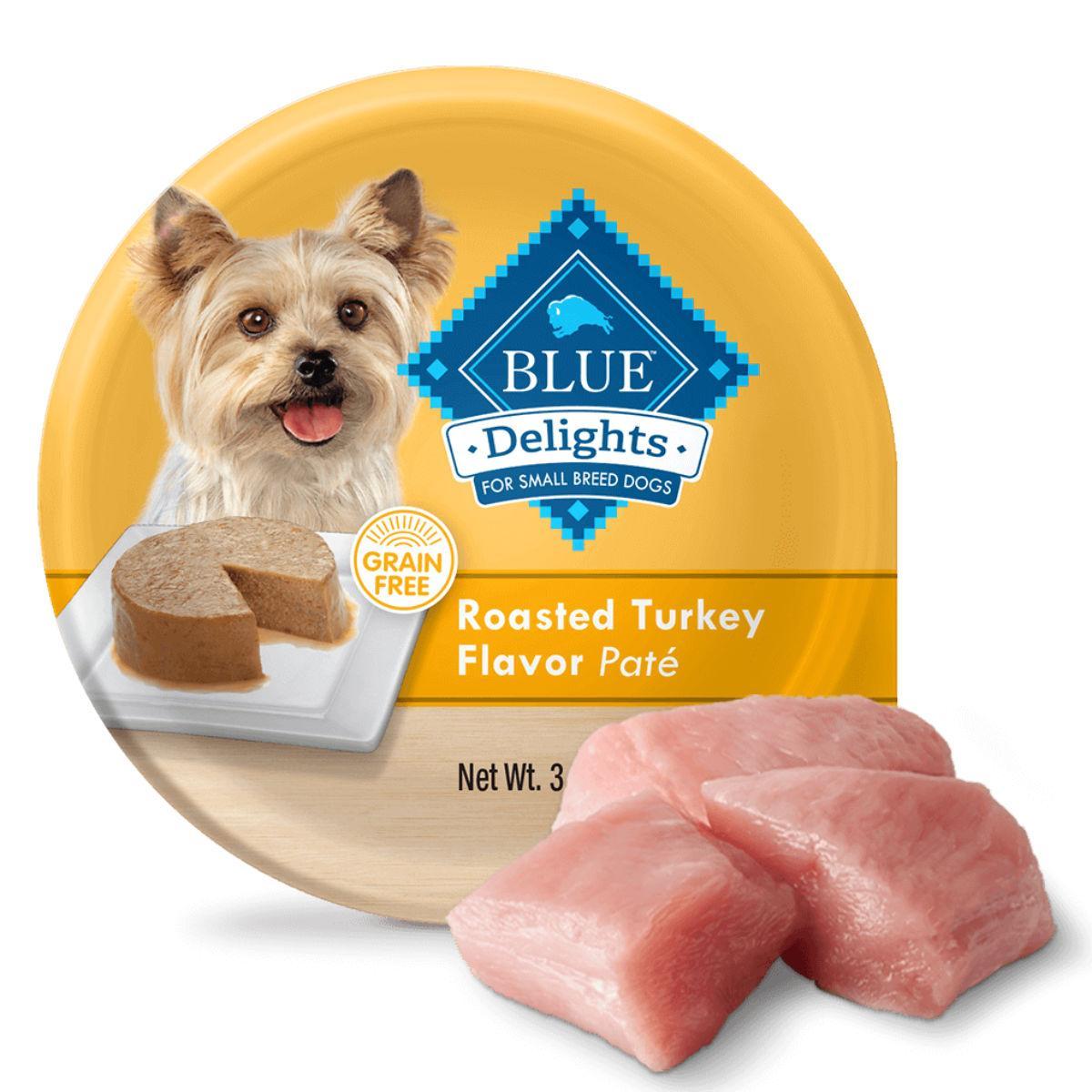 Blue Buffalo Divine Delights Small Breed Dog Food - Roasted Turkey