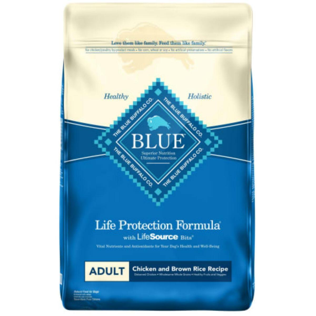 Blue Buffalo Life Protection Formula Adult Dog Food - Chicken & Brown Rice
