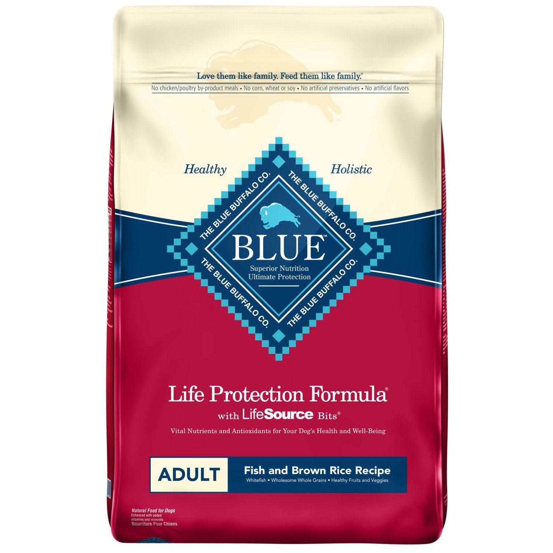 Blue Buffalo Life Protection Formula Dog Food - Fish & Brown Rice
