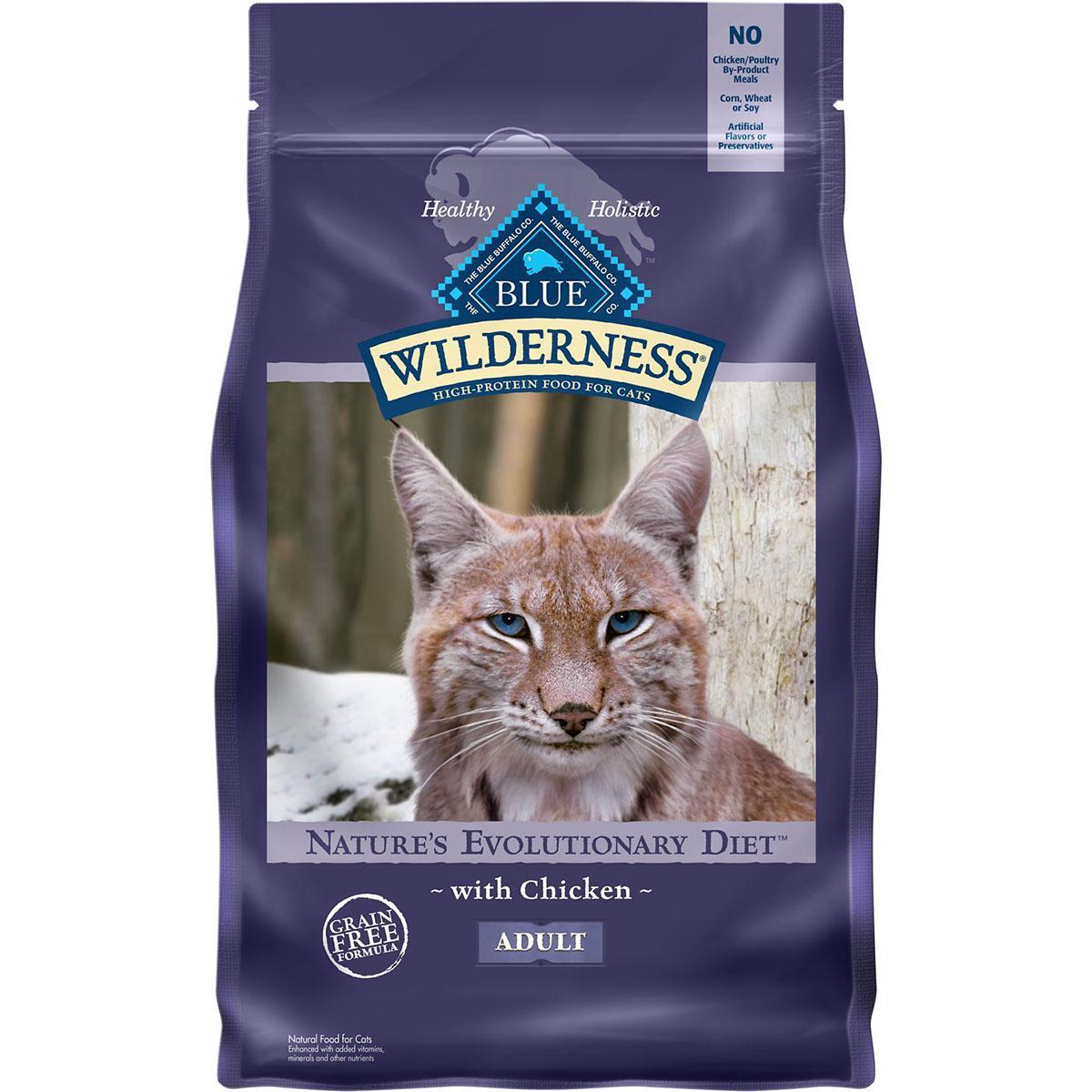 Blue Buffalo Wilderness Grain-Free Chicken Adult Dry Cat Food