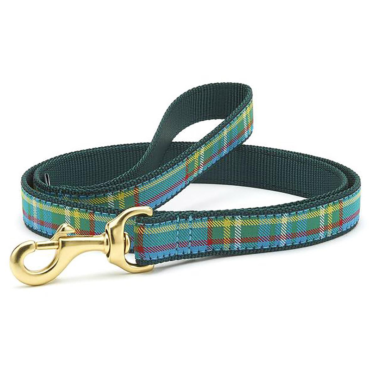 Kendall Plaid Dog Leash by Up Country