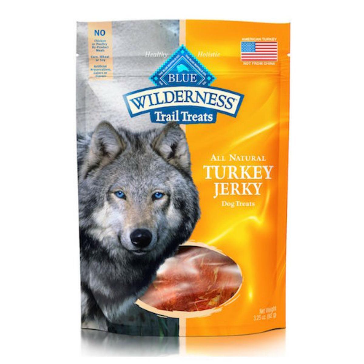 Blue Buffalo Wilderness Turkey Jerky Dog Treats