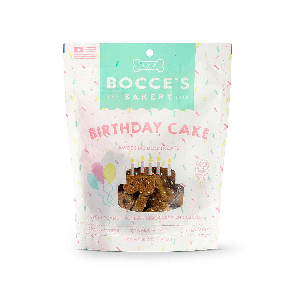 Bocce's Bakery Dog Biscuits - Birthday Cake