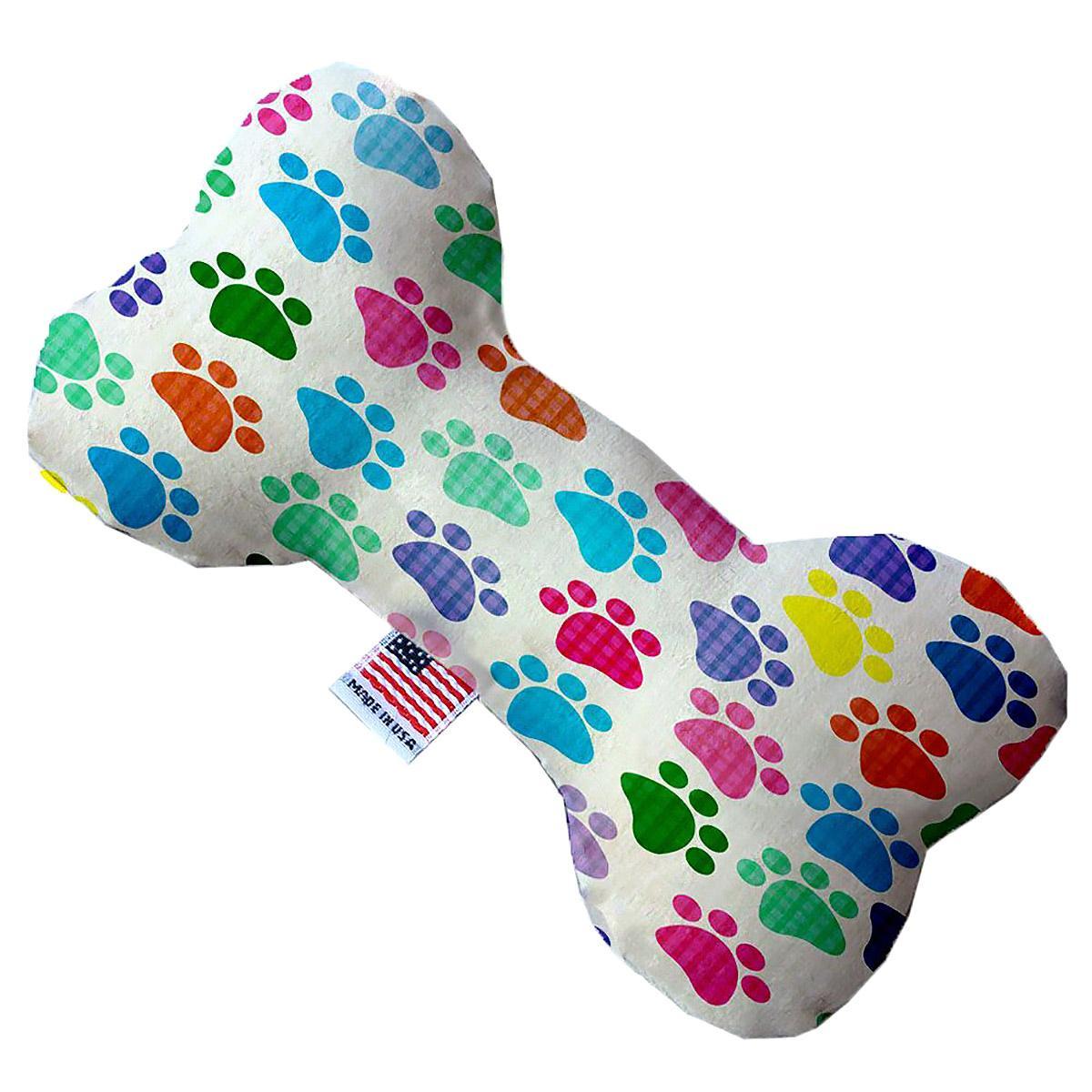 Bone Dog Toy - Confetti Paws