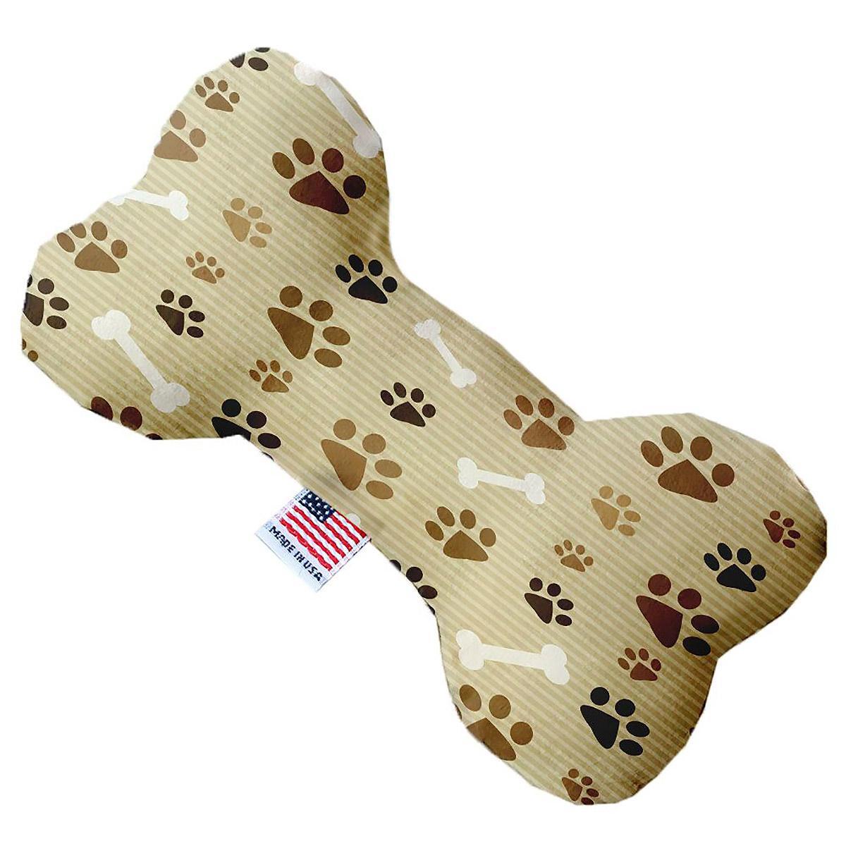 Bone Dog Toy - Mocha Paws and Bones