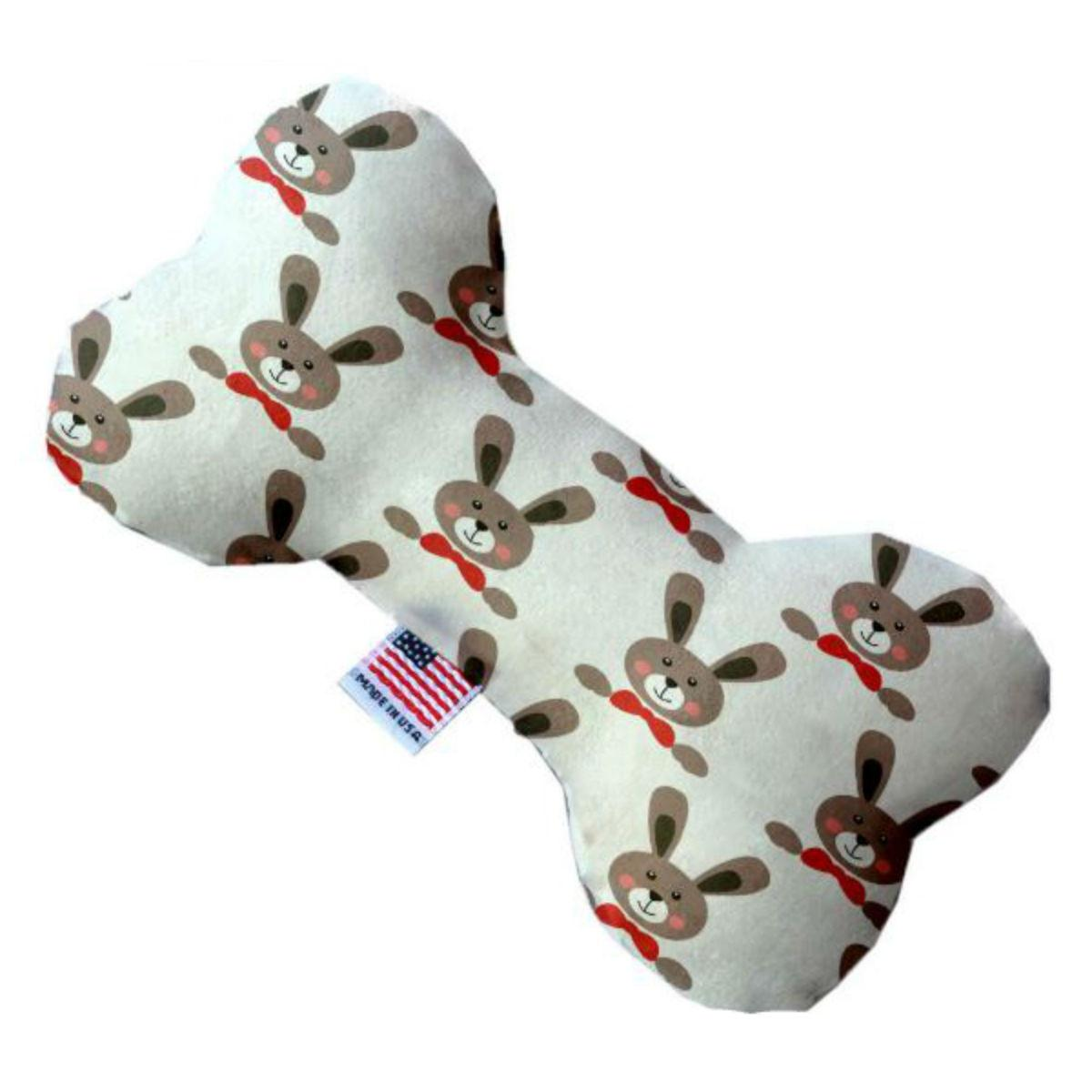 Bone Dog Toy - Dapper Rabbits