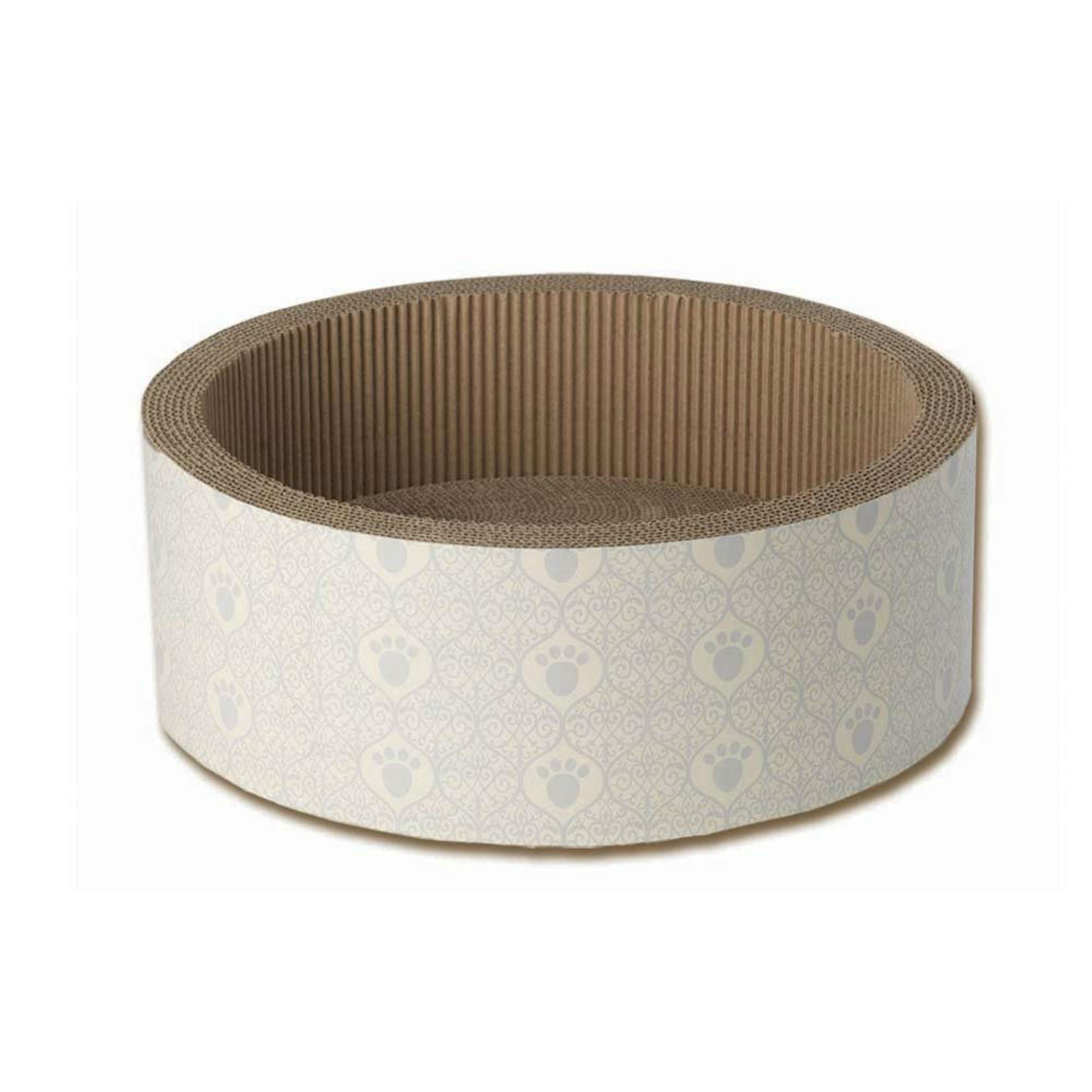 Boot's Cat Scratcher - Taupe/Gray Paw
