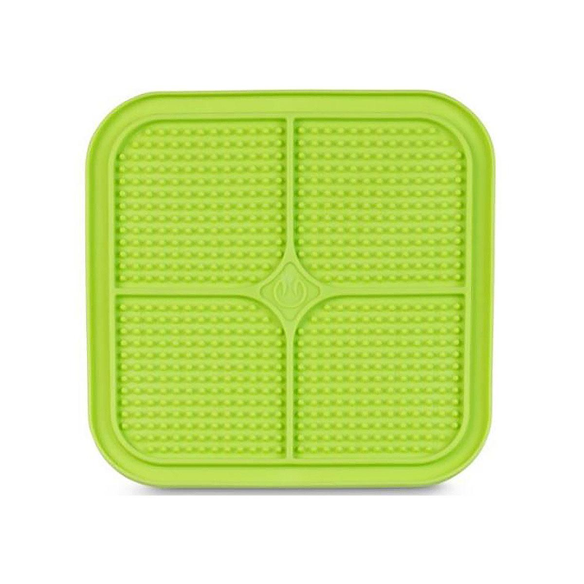 Boredom Buster Relax Cat Slow Feeder Licking Mat - Green