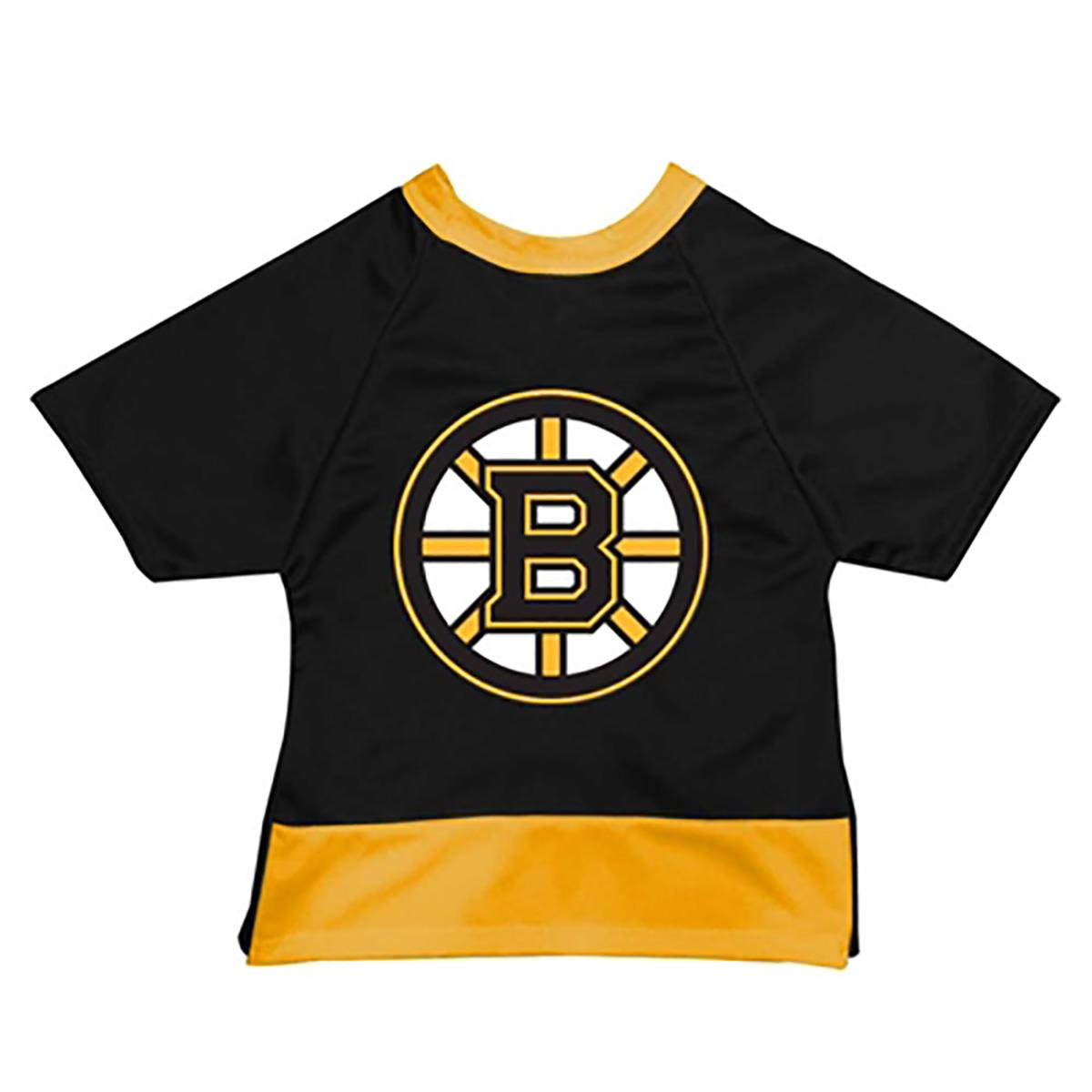 Boston Bruins Mesh Dog Jersey - Black with Yellow Trim