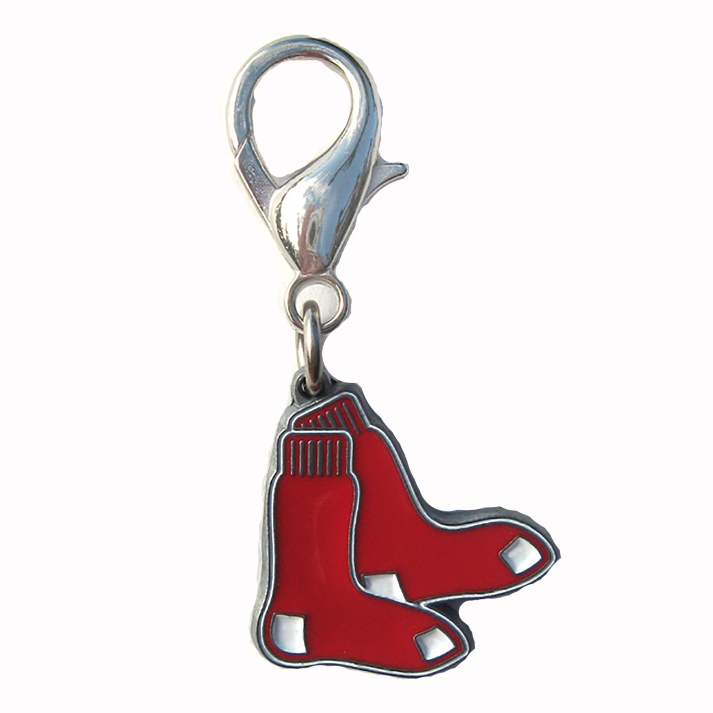 Boston Red Sox Logo Dog Collar Charm