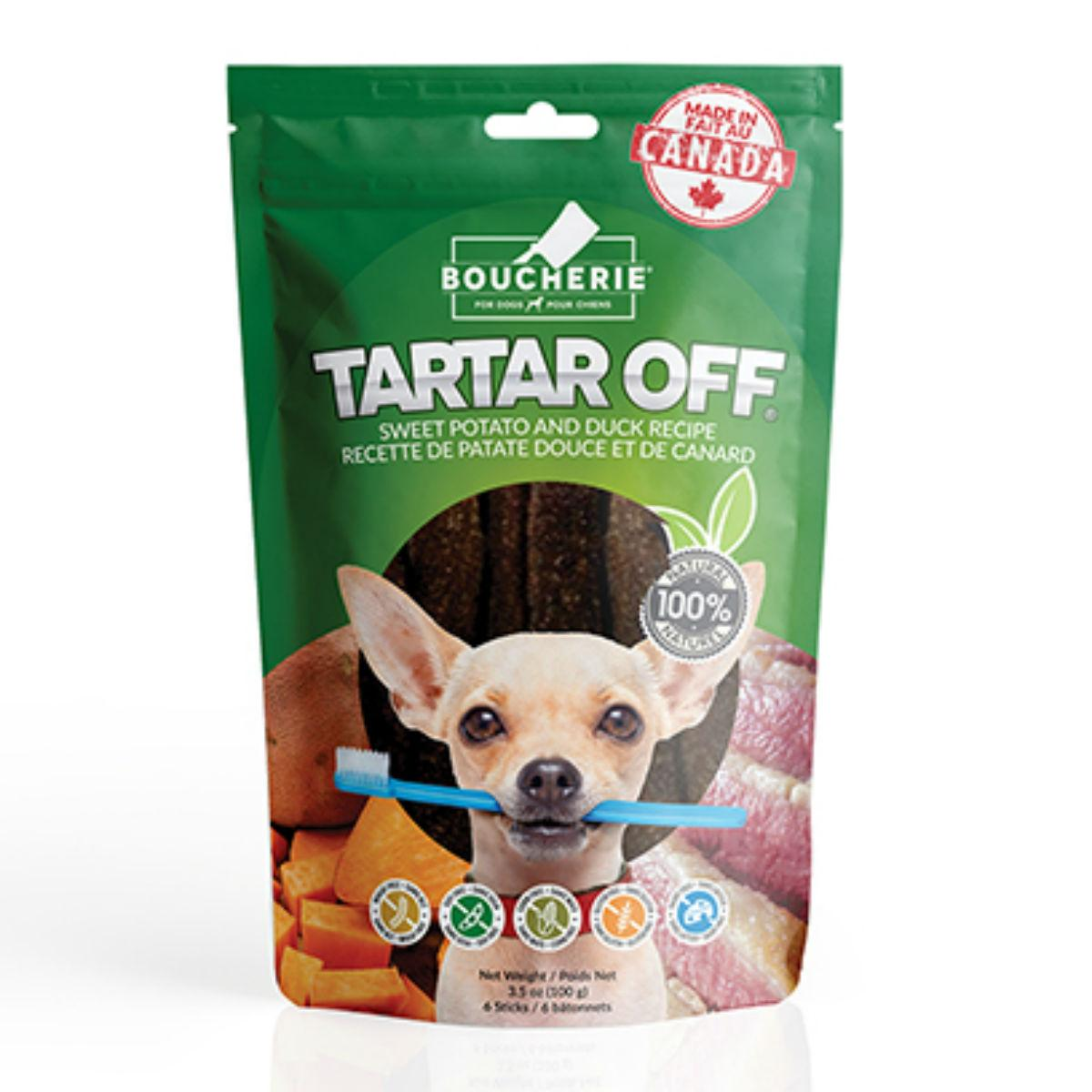 Boucherie Tartar Off Dog Treat - Sweet Potato with Duck Liver