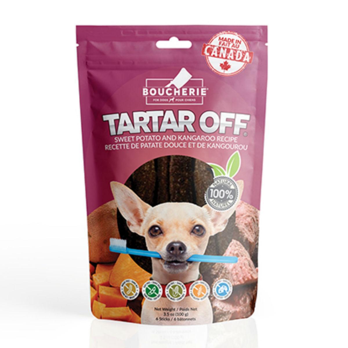 Boucherie Tartar Off Dog Treat - Sweet Potato with Kangaroo