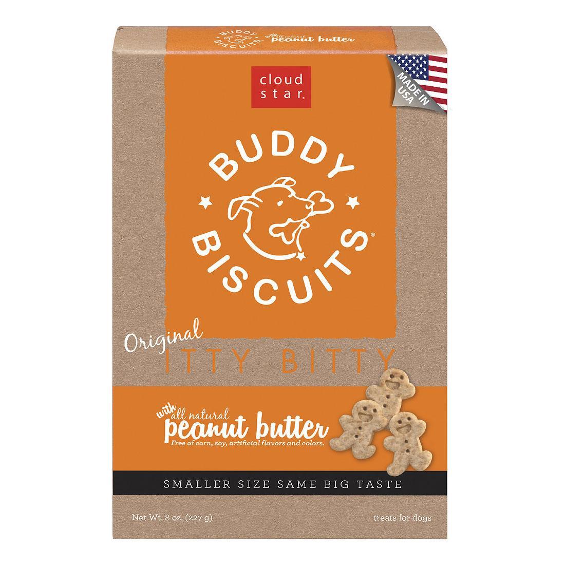 Buddy Biscuits Itty Bitty Dog Treats - Peanut Butter