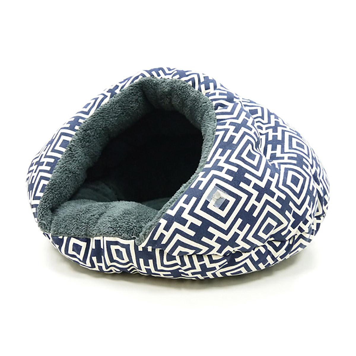 Burger Pet Bed by Dogo - Modern Navy