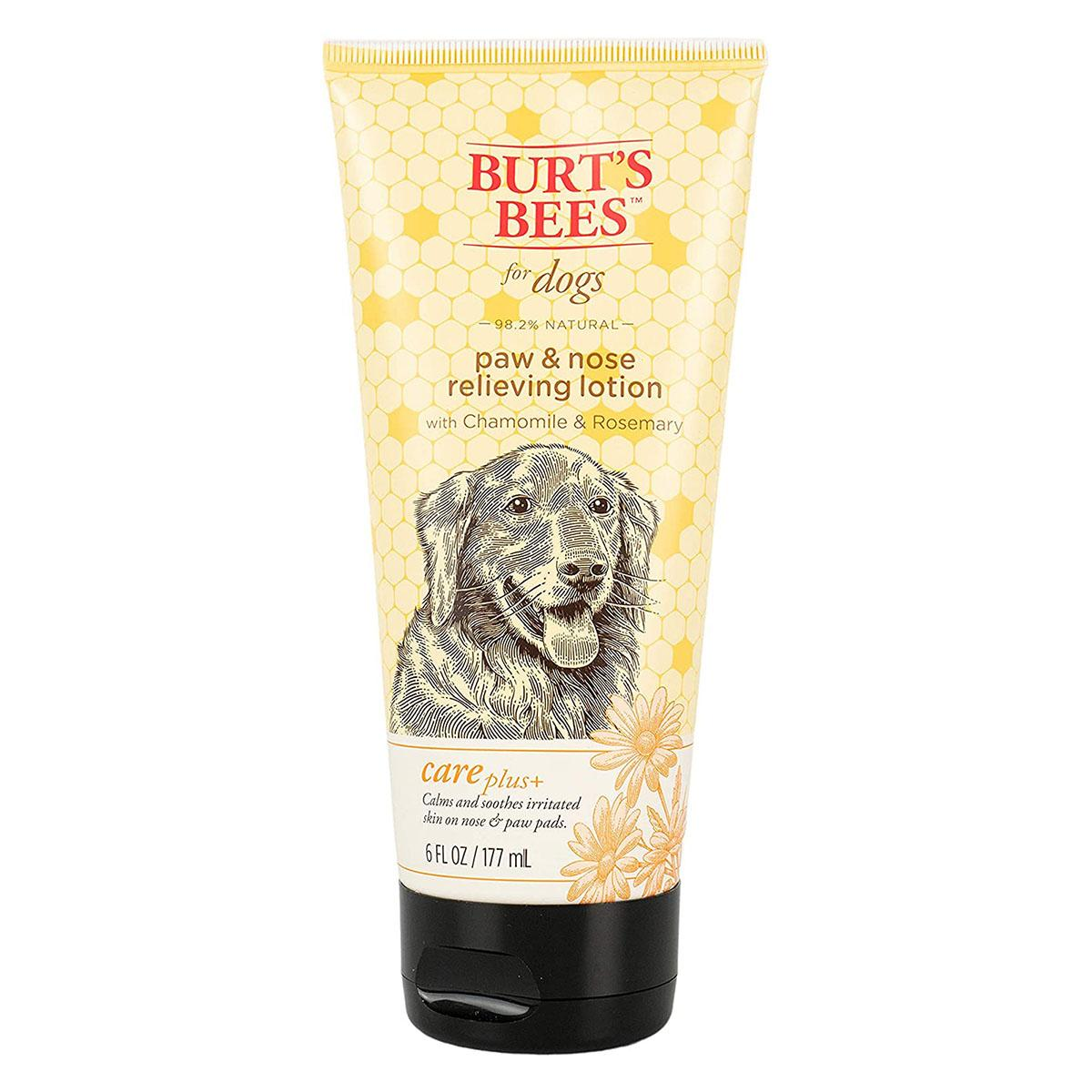Burt's Bees for Dogs Care Plus+ Natural Relieving Paw and Nose Lotion - Chamomile and Rosemary
