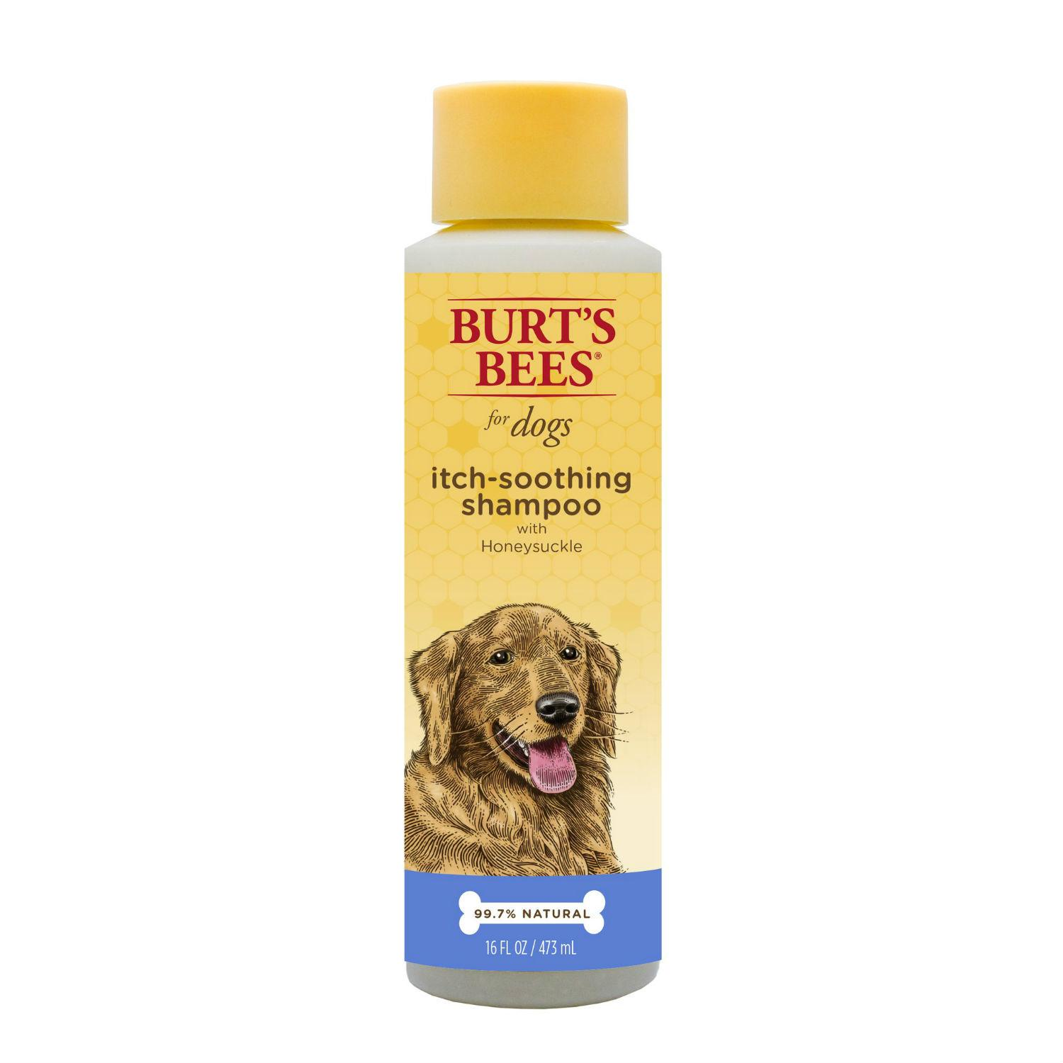 Burt's Bees Natural Itch Soothing Dog Shampoo - Honeysuckle