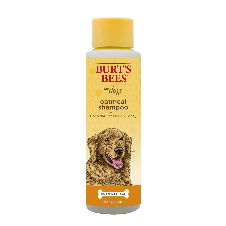 Burt's Bees Natural Oatmeal Dog Shampoo - Colloidal Oat Flour and Honey