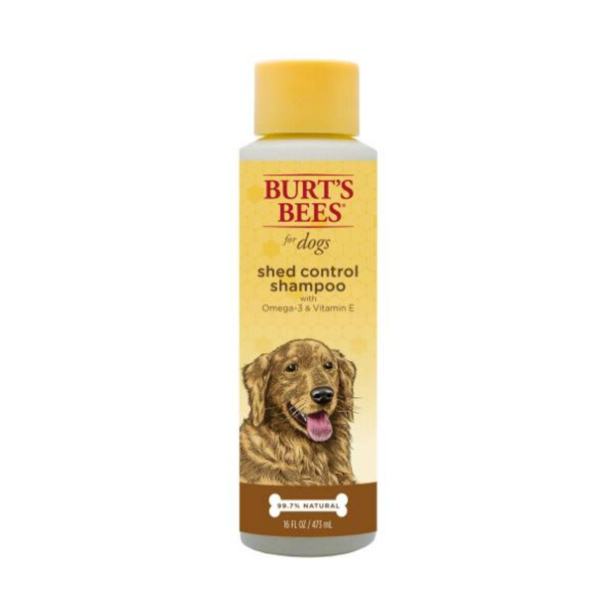 Burt's Bees Shed Control Dog Shampoo - Omega 3's and Vitamin E