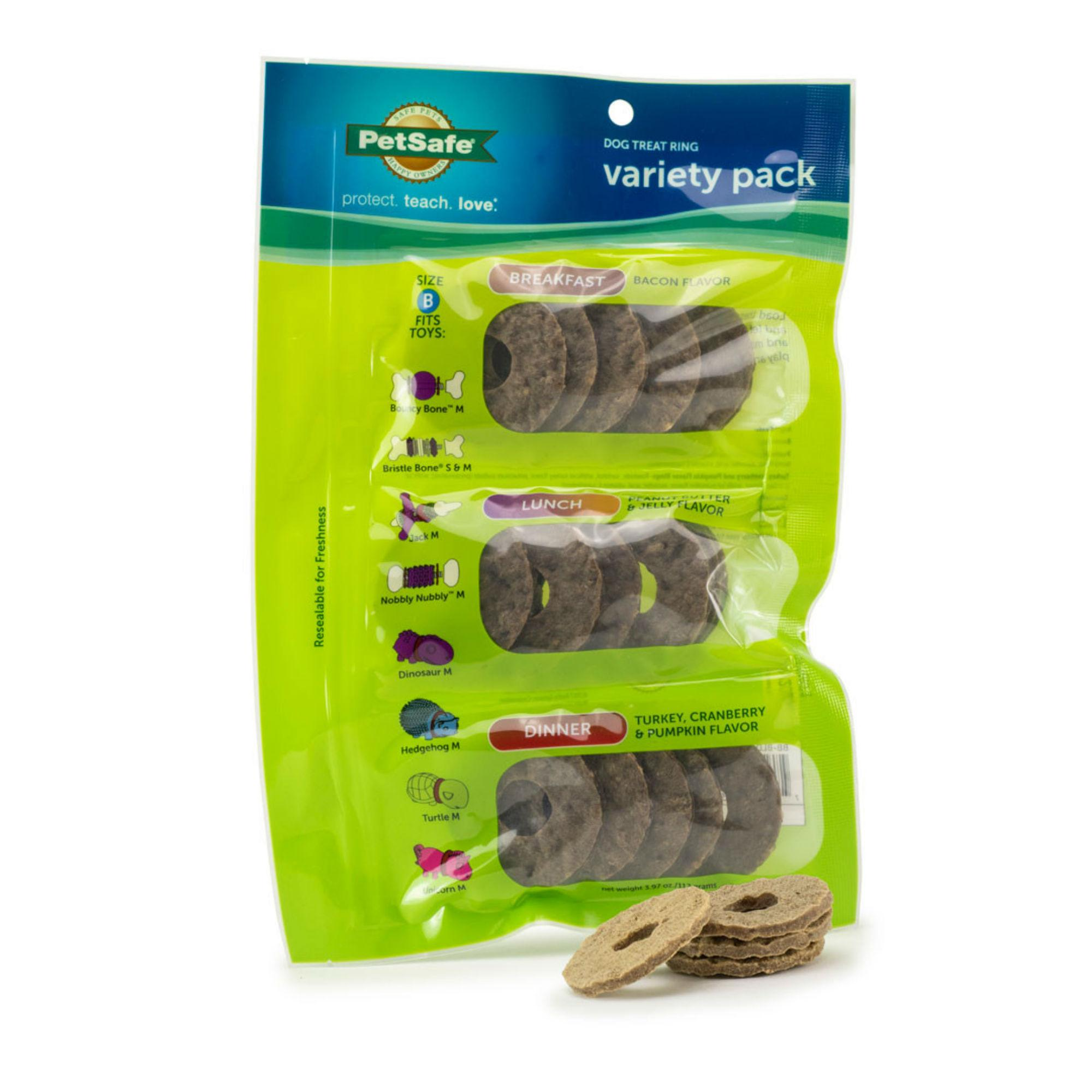 Busy Buddy Breakfast, Lunch, and Dinner Rawhide Ring Refills