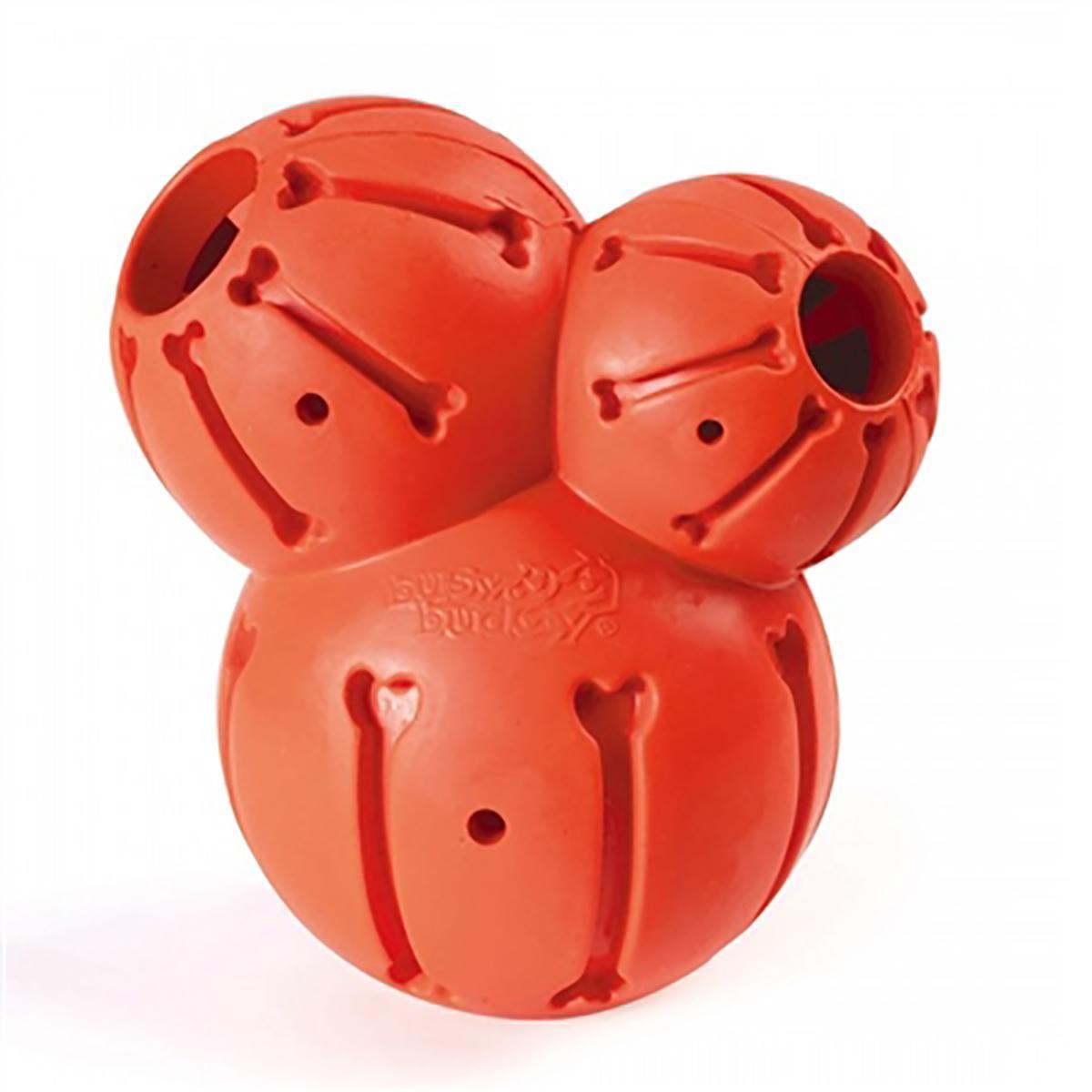 Busy Buddy Sportsmen Barnacle Dog Toy - Blaze Orange