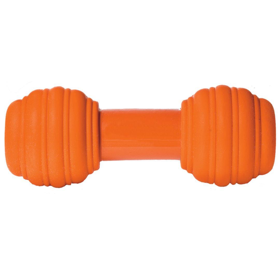 Busy Buddy Sportsmen Chuckle Dog Toy - Blaze Orange