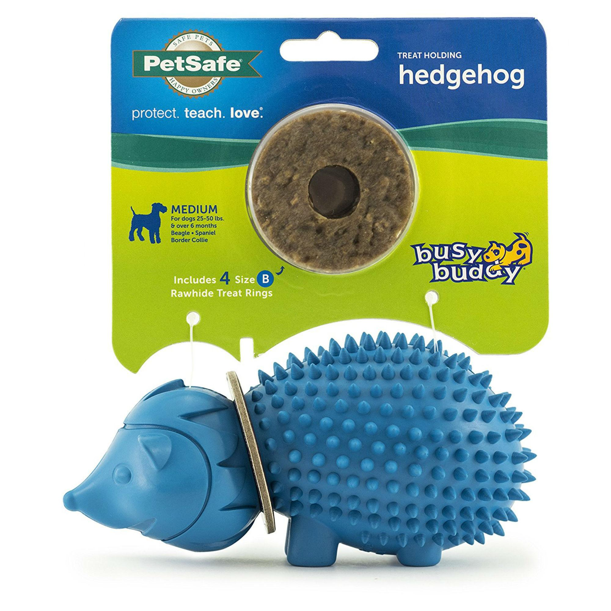 Busy Buddy Treat Ring Holder - Hedgehog