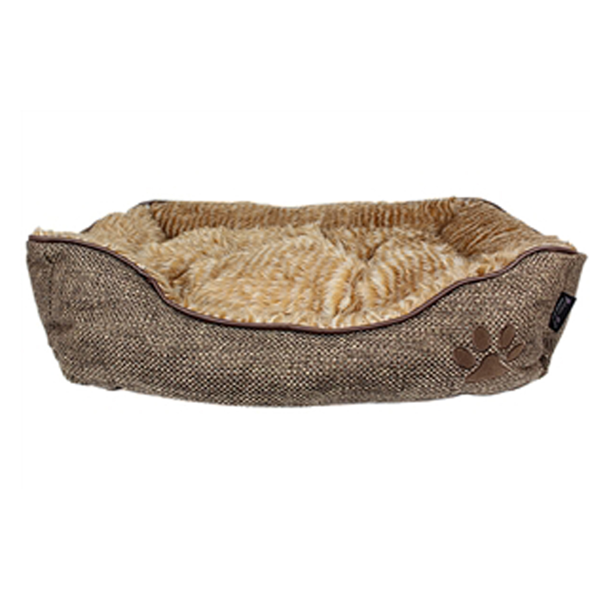 Cabana Lounger Dog Bed Brown With Same Day Shipping