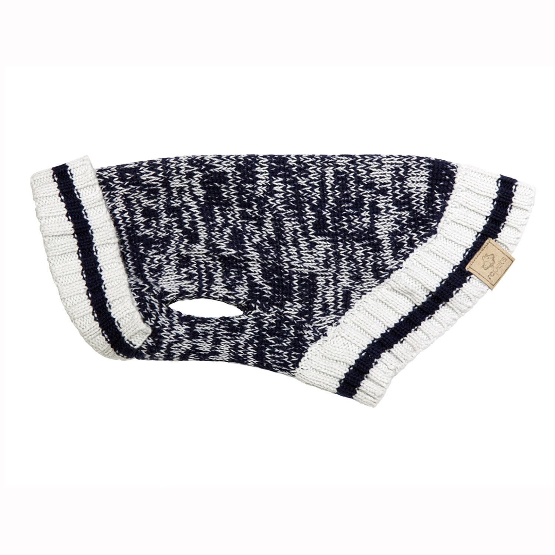 Cabin Dog Sweater by RC Pet - Navy Melange