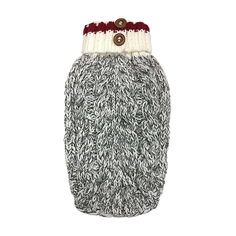 Cable Knit Dog Sweater by foufou Dog - Heritage