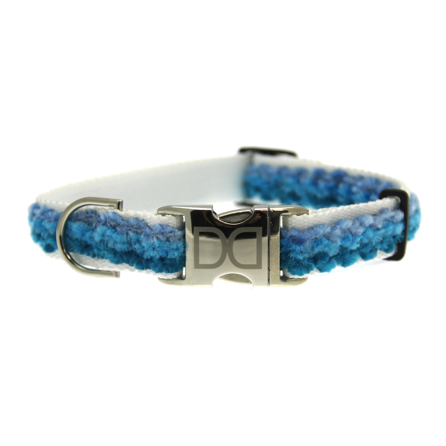 Cabo Dog Collar by Diva Dog - Pacific Blue