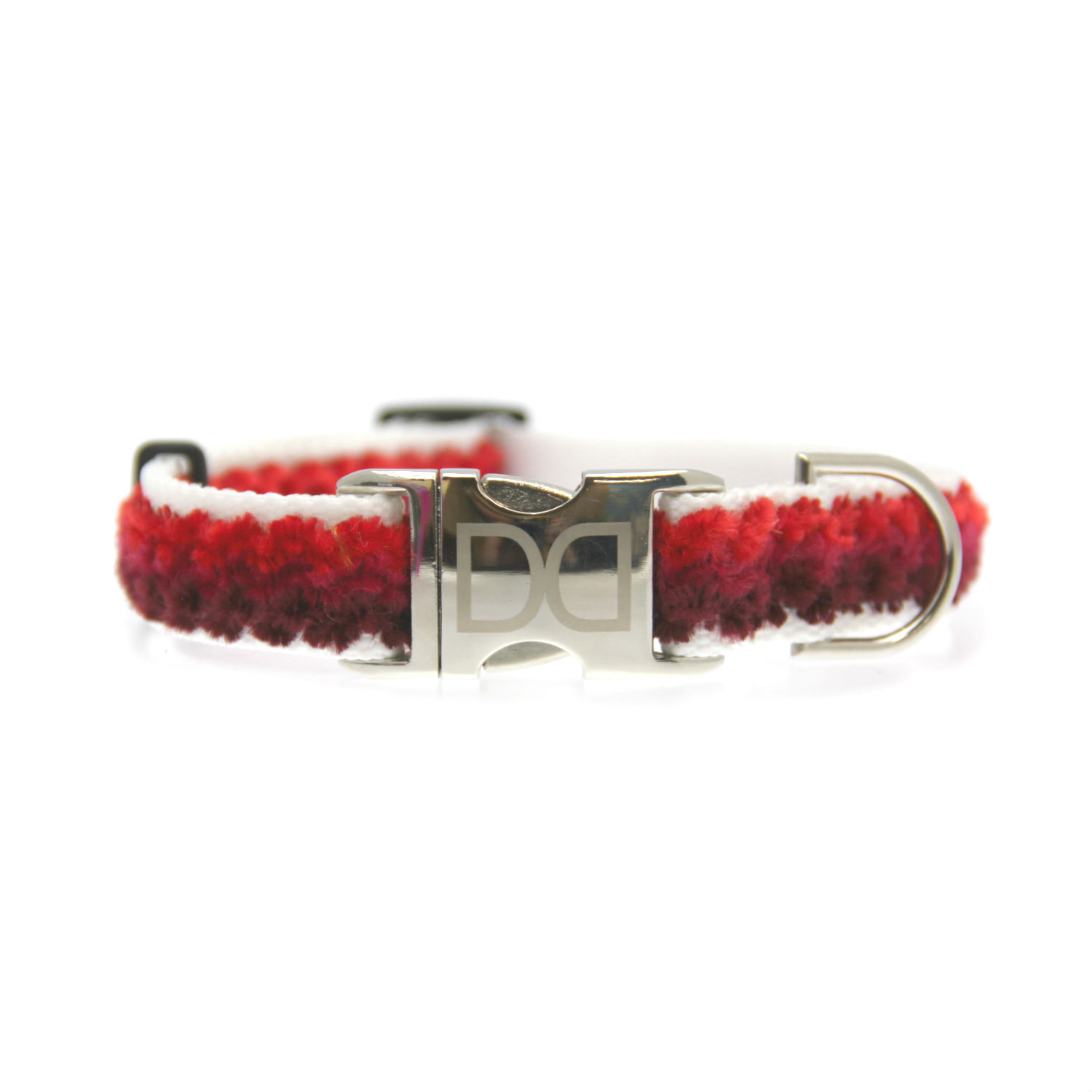 Cabo Dog Collar by Diva Dog - Sunset Red